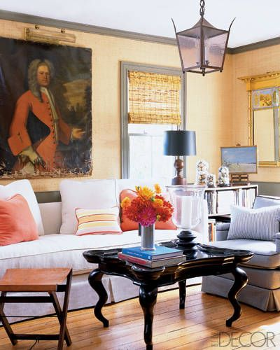 A Chic Retreat in the Hamptons - ELLE DECOR