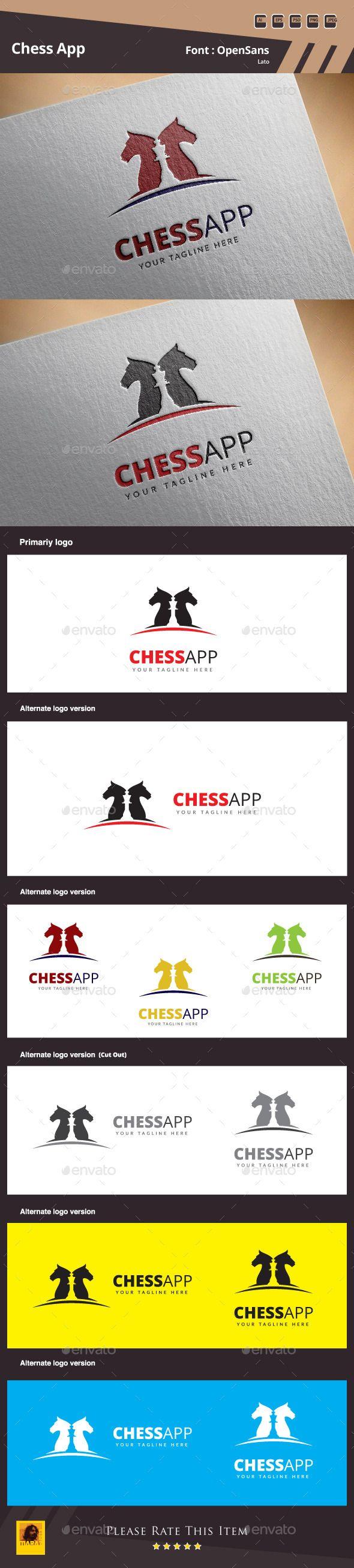 Chess App Logo Template