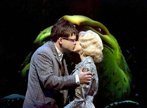 Hunter Foster and Kerry Butler in Little Shop of Horrors