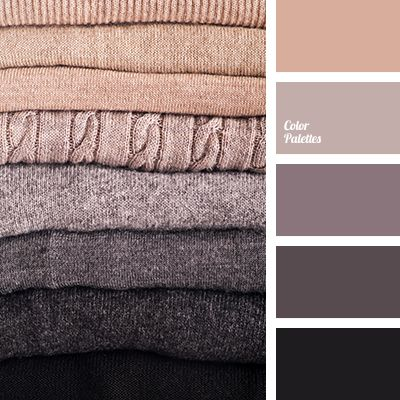 Soft color gamma is gently turning from black to grayish-brown, it is refreshed by a pinkish-beige tone. This palette meets the requirements of a business.