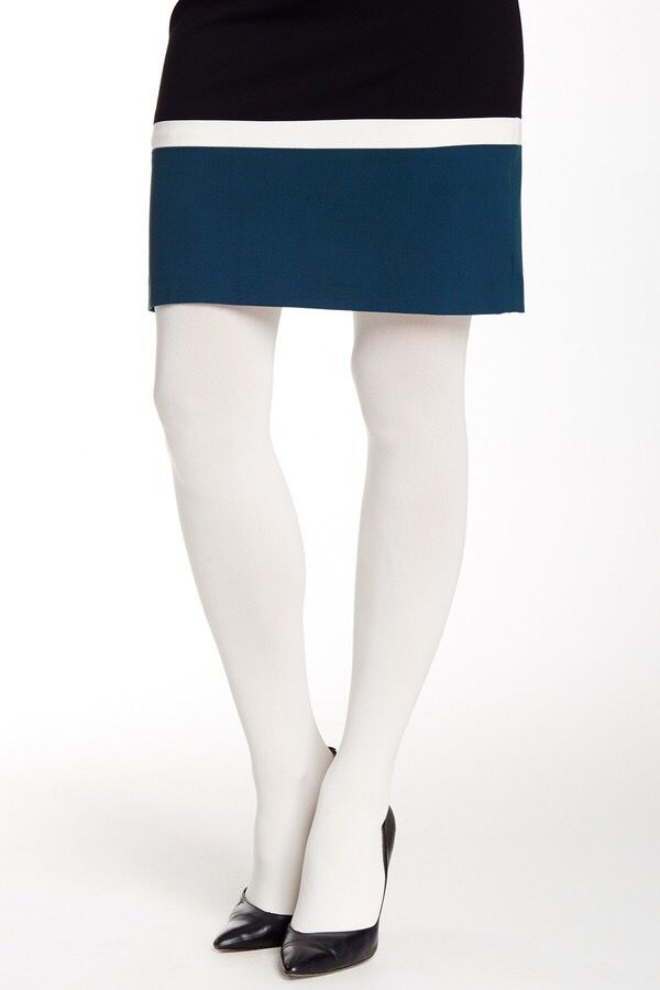 HUE ULTIMATE OPAQUE CONTROL TOP TIGHT -  HUE ULTIMATE OPAQUE CONTROL TOP TIGHT Opaque construction stretch fit control top and closed toe.  #tights #pantyhose #hosiery #nylons #tightslover #pantyhoselover #nylonlover #legs