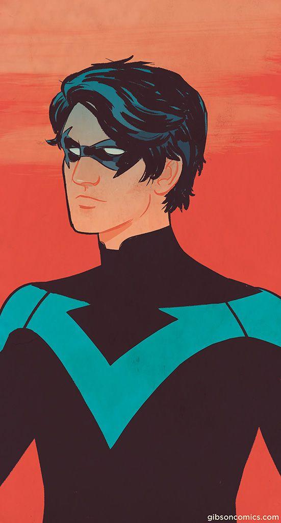 Nightwing by Jordan Gibson