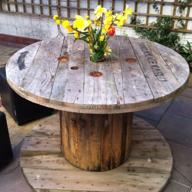 Beer Garden Furniture Woodworking Projects Plans