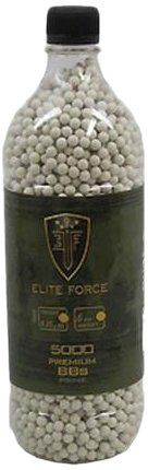 Elite Force Precision BBs (Click-a-Weight/QTY):   Elite Force Airsoft offers a complete line of .20 g, .25 g, and .28 g precision BBs. Packaged in a unique bottle with a screw-on top makes storage, transport, and loading simple and convenient. These BBs have been tested successfully in many variants of mid and hi-cap magazines to expose potential jamming and misfires. This testing combined with the overall consistency in size and polish have proven these precision Elite Force BBs to be...