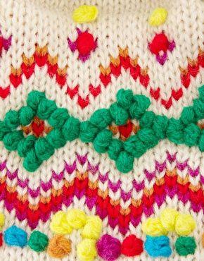 nice knit pattern  Enlarge ASOS Multi Knit Hat