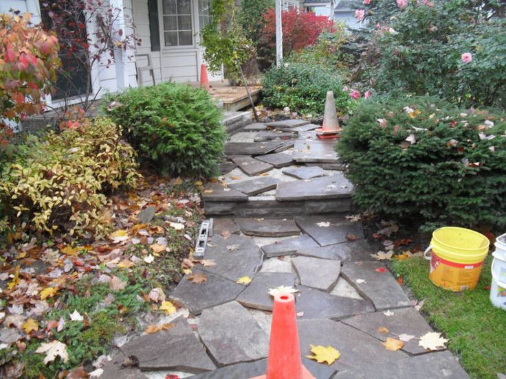 45 Best Stone Walks Images On Pinterest Flagstone