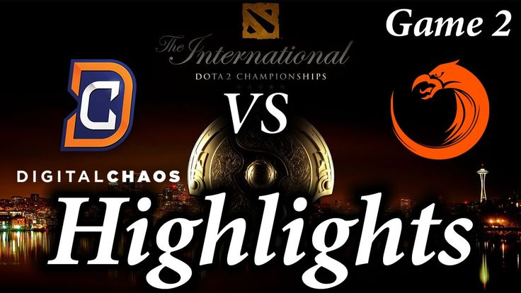 TI6 Digital Chaos vs TNC Pro Team Game 2 Highlights The International 2016
