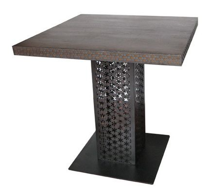 Table with Carving Brass Ref 003D