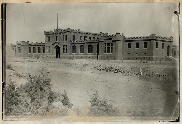 [Edificio de la administración del J.C. de A.L.P. Arica]
