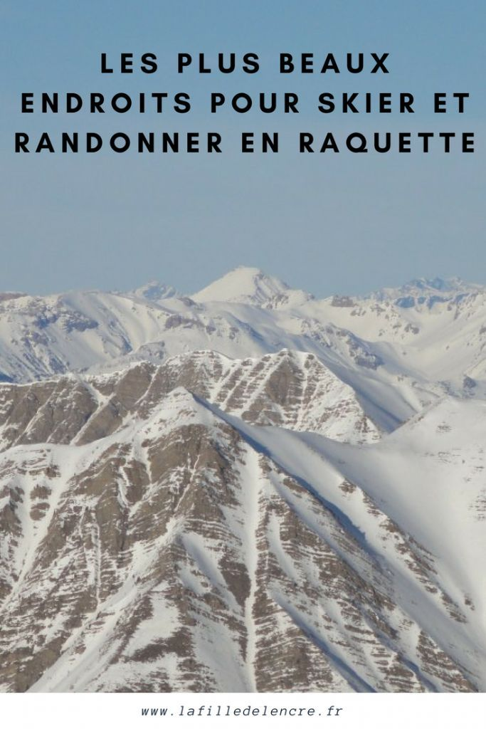 Les plus beaux endroits du monde pour skier et randonner en raquette !