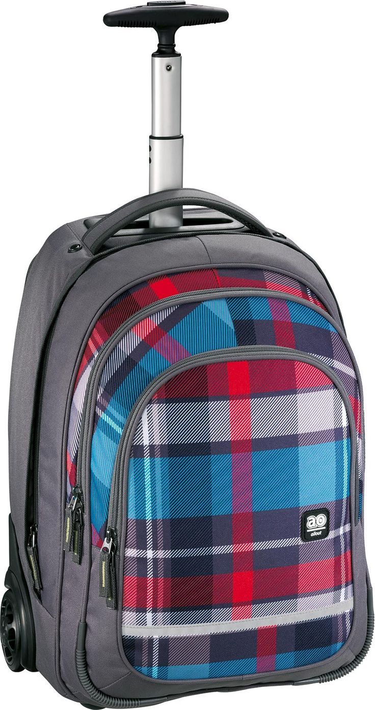All Out Bolton Trolley Rucksack Woody Grey