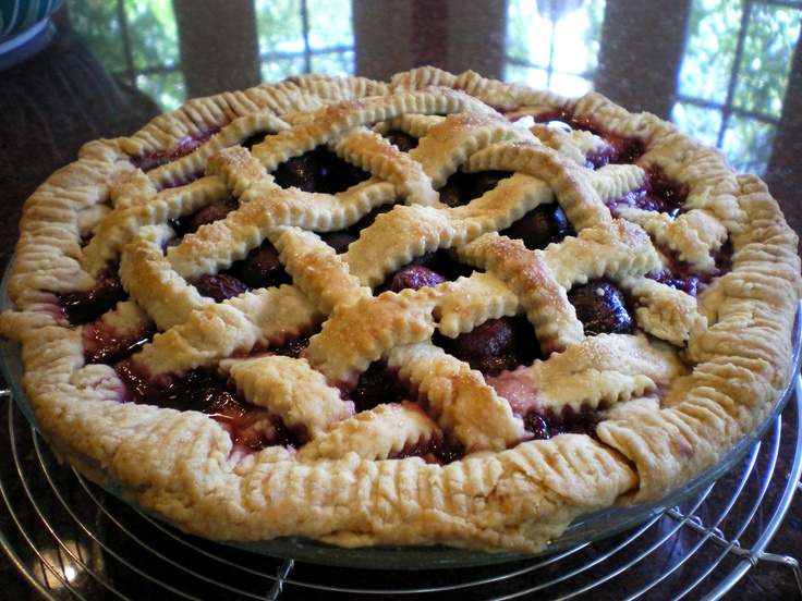 Classic Cherry Pie With Lattice Crust Recipe — Dishmaps