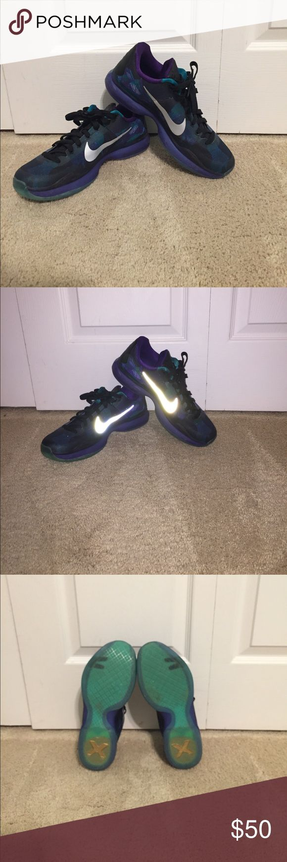 Kobe 10 Men's size 8.5 Blue and purple Kobe basketball shoes. Almost perfect condition, only worn inside! Nike Shoes Athletic Shoes