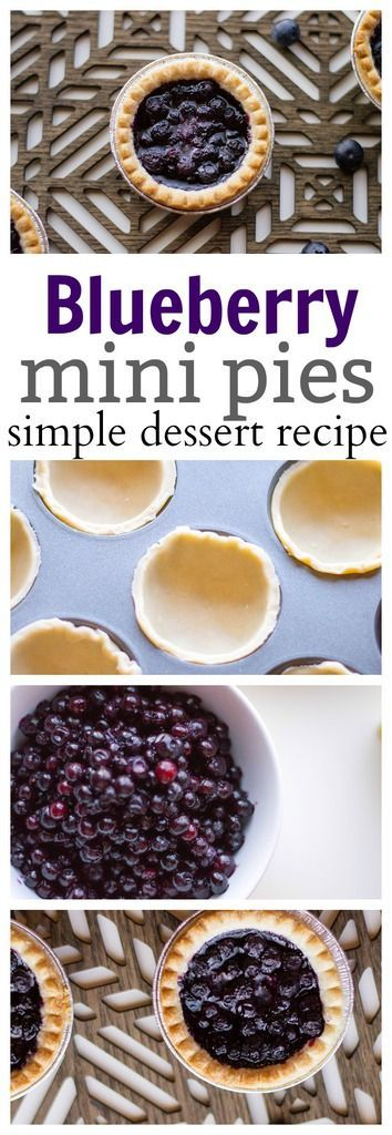THIS EASY BLUEBERRY PIE IS SO SIMPLE TO MAKE, IT'S ALMOST NO-BAKE! THE FRESH BLUEBERRIES ARE PERFECT FOR A SPRING OR SUMMER DESSERT ON THE PATIO!