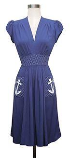 Trashy Diva Anchor Dress cg-d6824-anchordress