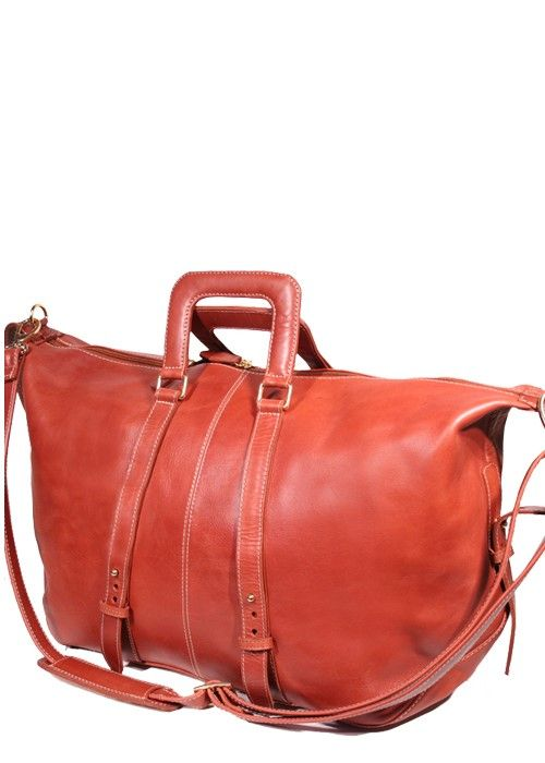 Nouveau Amazon Overnight Leather Travel Duffel Bag | South Africa
