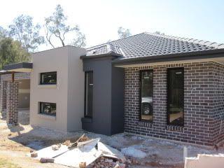 brick & render facades - Google Search