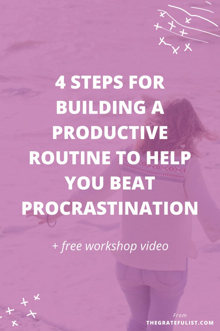 Are you stuck in procrastination station and is your productivity hurting? As a recovering perfectionist, I've been there because perfectionism leads to procrastination. That's why I hosted a workshop called 'The 4 most important steps for building a productive daily routine to help you kick procrastination in the shins'. This workshop is a must-watch if you want to be more productive in your work and life. Click through to read the entire blog post and watch the workshop video.