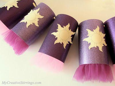 lanterns: Tangled Birthday Party (Rapunzel)