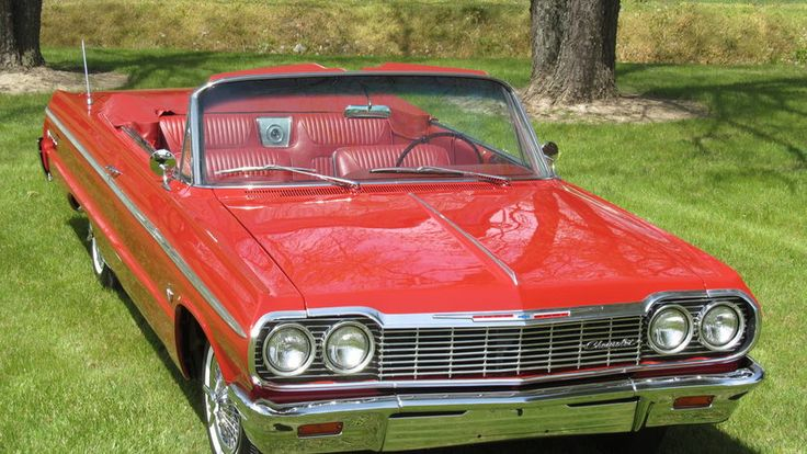 1964 Chevrolet Impala SS Convertible presented as Lot S285 at Indianapolis, IN