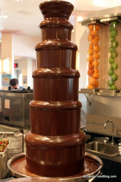 chocolate fountain Hollywood and Vine