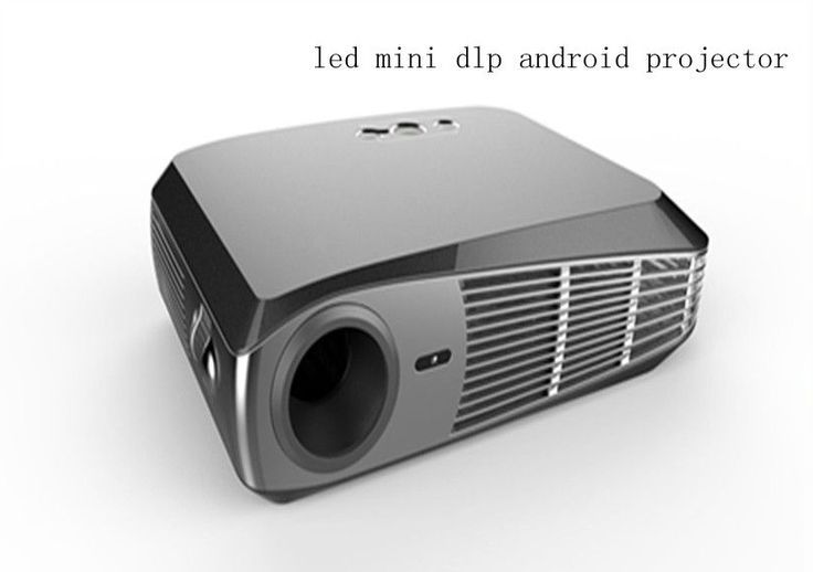 1500 lumens android 4 4 operating systerm mini projector for Texas instruments mini projector
