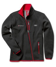 Men's Audi Sport sweat jacket Colour: dark grey exterior, light grey inner.    Available from: http://www.m25audi.co.uk