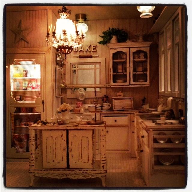 225 Best The Miniature Kitchen Images On Pinterest: 17 Best Images About Dollhouse Kitchens 1 On Pinterest