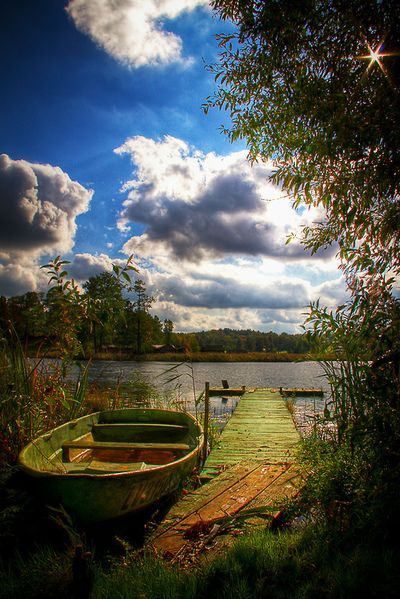 indigodreams: allthingseurope: Araisi Village, Letonia (por gtall1)