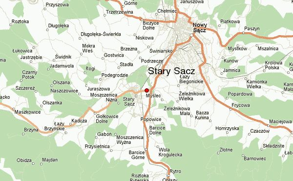 Stary Sacz in poland map - Google Search