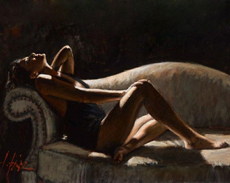 Fabian Perez, 1967 ~ Reflections of a Dream