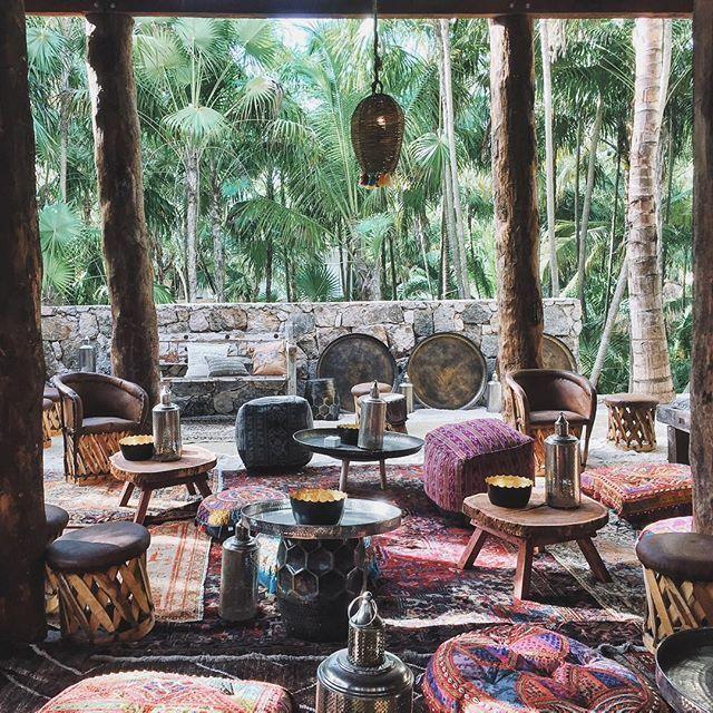 New resort in Tulum, NOMADE TULUM, Bohemian lounge vibes. #Tulum, casitas on the beach