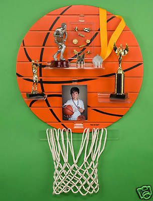 Charming Thatu0027s My Shelfâu201e¢ Basketball Sport Trophy Shelf Display   BUY NOW ONLY  49.99