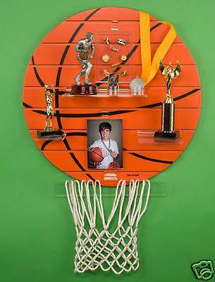 "That's My Shelfâ""¢ Basketball Sport Trophy Shelf Display - BUY NOW ONLY 49.99"