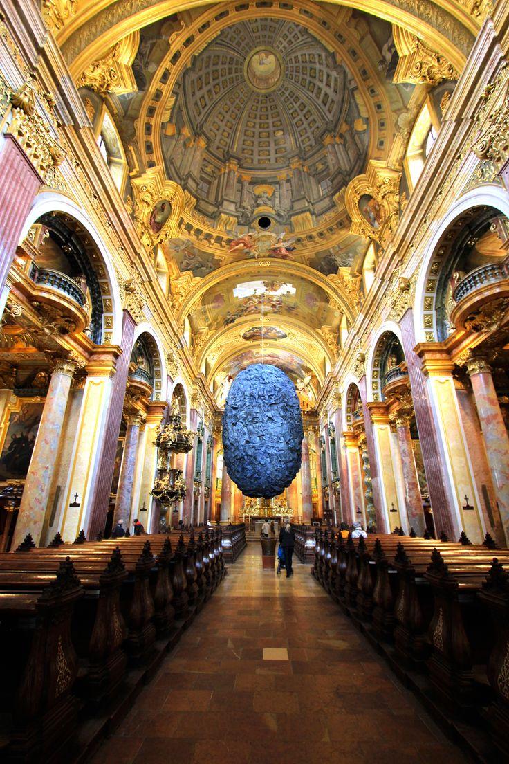The Jesuit Church Jesuitenkirche Vienna Oud Gebouw Wenen Gebouwen