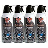 Falcon Compressed Gas (152a) Disposable Cleaning Duster 4 Count 10 oz. Can (DPSXL4T) Reviews