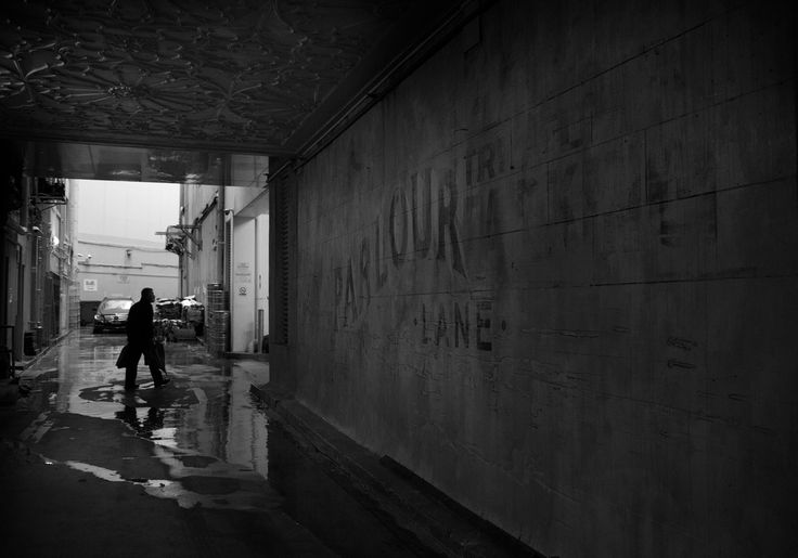 Market St Passage, Parlour Lane, Market Lane - on a rainy day