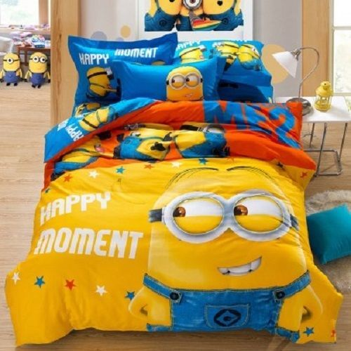 Twin & Queen Size Despicable Me 2 Minions Duvet Cover Bedding Set
