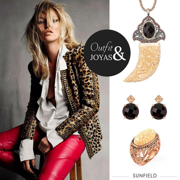 #Outfit & #Joyas #Sunfield. #KateMoss