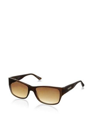 Thierry Mugler Women's TR2003 Sunglasses, Brown Glitter