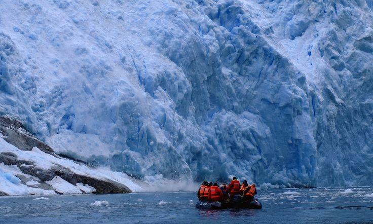 Glacier Garibaldi. Parque Nacional Alberto Agustini. Chile. XII Región de Magallanes y Antártica Chilena.