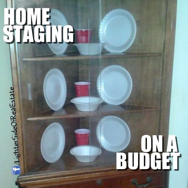 There might be a better solution... #budget #homestaging WWW.briddlewoodrealestate.com