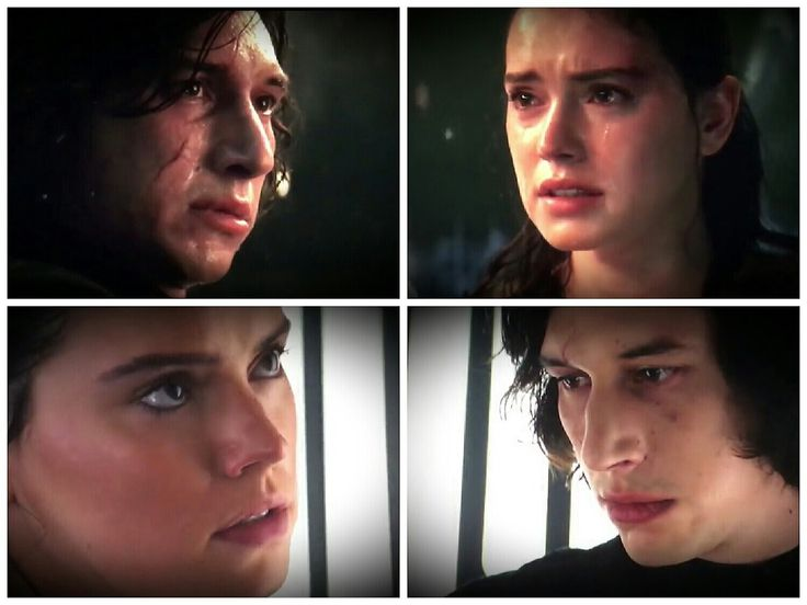 I look at Rey and Kylo looking at each other and all I see is longing, honesty and genuine heartbreak. No manipulation, no hate or malice. These are just two people who have begun to care deeply for each other and who at this point are dissapointed...