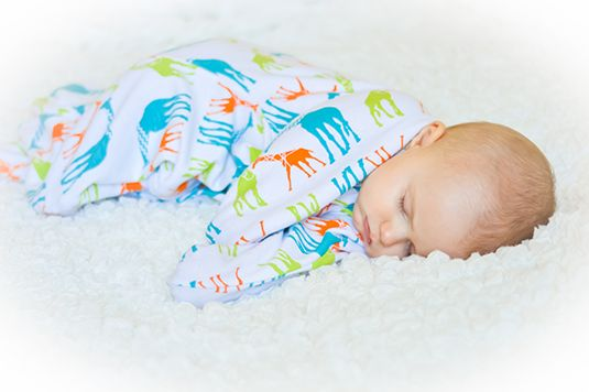 Zipadee-Zip Keeps Baby Sleeping Through The Swaddle Transition  ... see more at InventorSpot.com