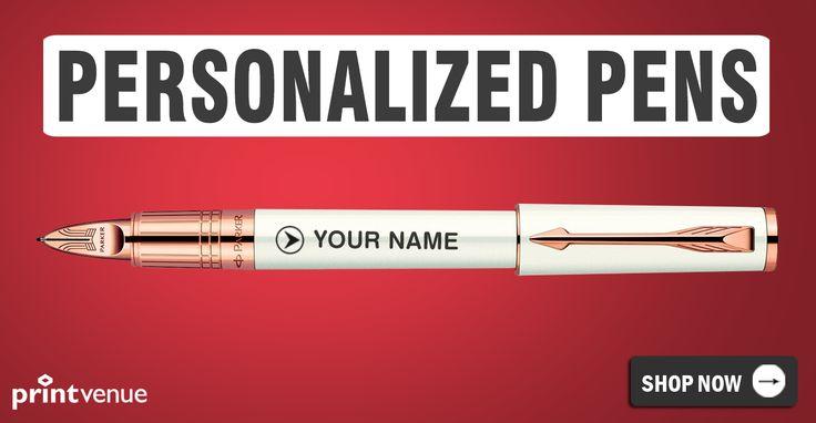 Personalize this dashing Parker now !! Order Link ::-->> http://www.printvenue.com/c/pens?utm_source=Pinterest&utm_medium=Post&utm_campaign=Pens_12Feb14