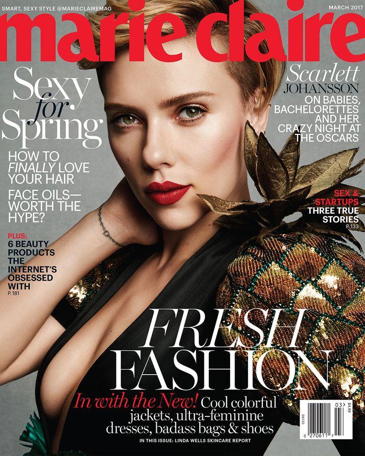 Scarlett Johansson for Marie Claire
