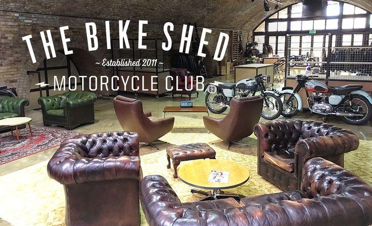the Bike Shed - Cafe Racers, Street Trackers, Scramblers and Retro Custom Bikes.