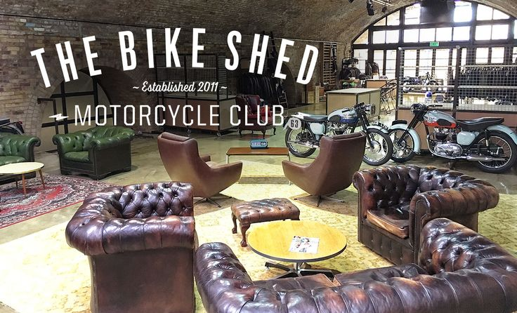 The Bike Shed - Old Street - Motorcycle club with cafe/bar - food - breakfast - lunch - dinner - english - burgers