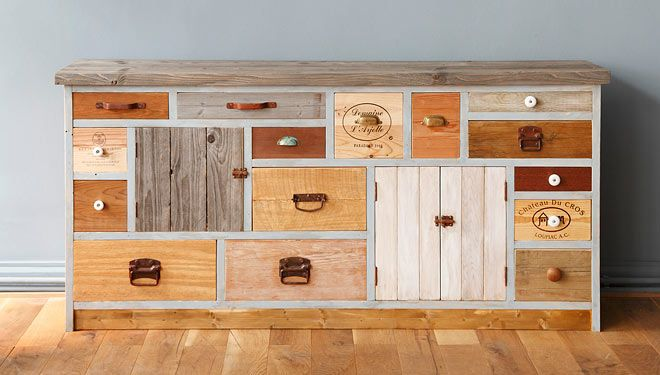 Great wooden dressers by German design Aterlier Uwe van Afferden / photographs…