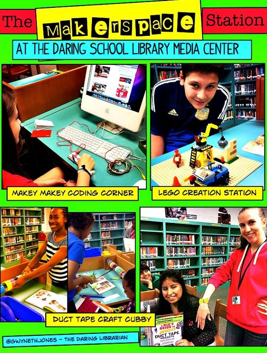The Daring Librarian: Makerspace Starter Kit (Love that this is a comic!)